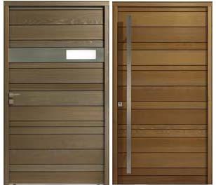 31 porte bois exterieur creteil for Porte design exterieur
